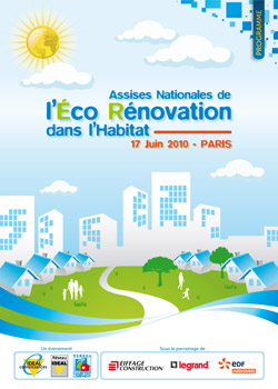 Eco Renovation assises nationales de l'éco-rénovation dans l'habitat | ekopolis
