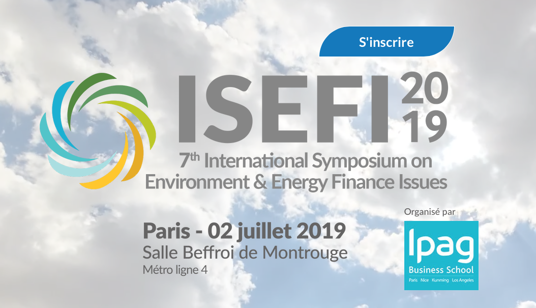 International Symposium on Environment & Energy Finance Issues