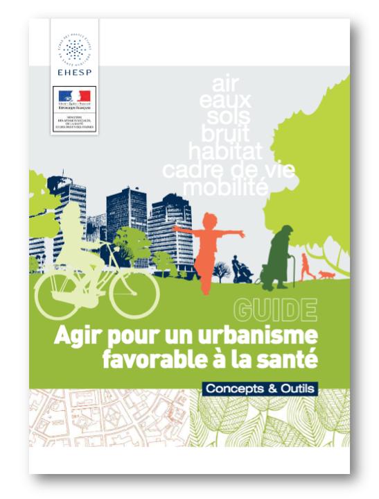 Couverture Guide EHESP Urbanisme et santé